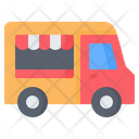 Food Truck Street Icon