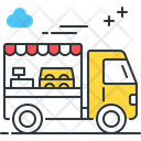 Food Truck Food Tempo Fast Food Icon