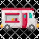 Food Truck Van Icon