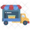 Food Truck Food Car Food Vehicle Icon