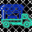 Food Truck Food Car Food Vehicle Icon