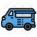 Food Truck Fast Food Truck Icon