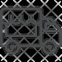 Truck Food Transport Icon