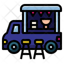 Food Truck Truck Vehicle Icon