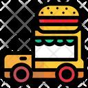Facility Hamburger Sell Icon