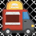 Food Truck Food Cart Food Vending Icon