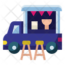 Food Truck Delivery Fast Food Icon