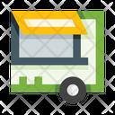 Food Truck Food Vehicle Fastfood Icon