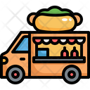 Food Truck Fast Food Food Icon