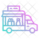 Food Truck Shop Truck Icon