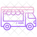 Food Truck Fast Food Delivery Icon