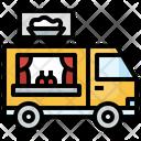 Food Truck Food Van Food Vehicle Icon