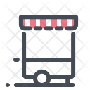 Food Truck Shopping Sale Icon