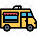 Food Truck Vehicle Icon