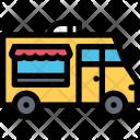 Food Truck Vehicle Icon
