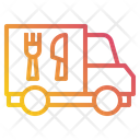 Truck Delivery Food Icon