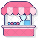 Mfood Vendor Food Vendor Food Stall Icon