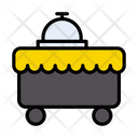 Foodtrolley Serve Hotel Icon
