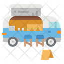 Foodtruck Ice Cream Icon