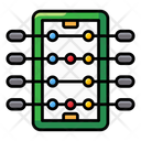 Foosball Table Soccer Table Football Icon