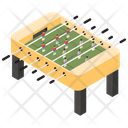 Foosball Tabletop Game Table Soccer Icon