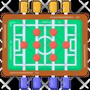 Foosball Table Foosball Kicker Icon