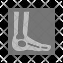 Foot X Ray Copy Icon