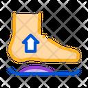 Medical Orthopedic Foot Icon