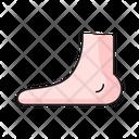 Foot Medical Healthcare Icon