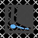 Foot Leg Scan Icon
