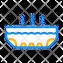 Foot Bath Callus Icon