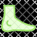 Foot Body Organ Icon