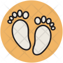 Foot Steps Prints Icon