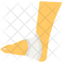 Foot Injury Icon