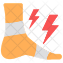 Foot Injury Feet Injury Medical Treatment Icon