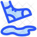 Foot On Hole Icon