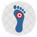 Foot Footstep Pain Icon