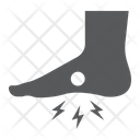 Foot Pain Body Icon