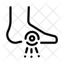 Foot Heel Pain Icon