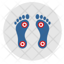 Foot Pain Dots Icon