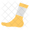 Foot Plaster Injury Icon