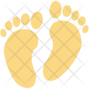 Footprints Foot Sign Icon