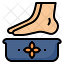 Foot Spa Relaxing Icon