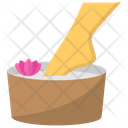 Foot Spa Cleaning Icon