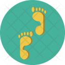 Foot Steps Find Icon