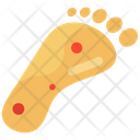 Foot Ulcer Diabetic Foot Diseased Foot Icon