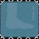 Bones Foot Injury Icon