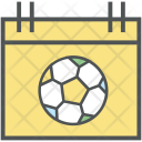 Football Calendar Sports Icon