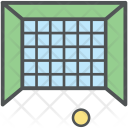 Football Goal Net Icon