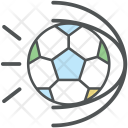 Football Hit Ball Icon